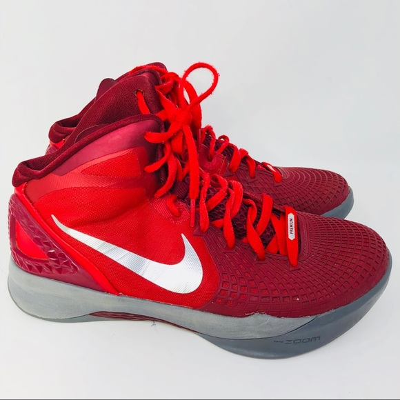 bb6d1912af3e Nike Zoom Hyperdunk Flywire red basketball shoes 8.  M 5ba82db4e944ba09f29d4252